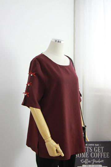 마리앤 진주리본블라우스 BRS1250