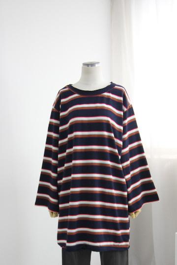 유니크 캐주얼 단가라 티셔츠 DD1442