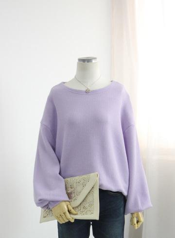 올데이 벌룬소매 니트 티셔츠 DD501