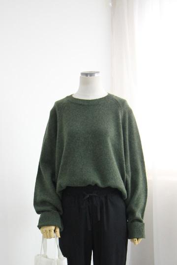 플론 울 니트 티셔츠 DN1220