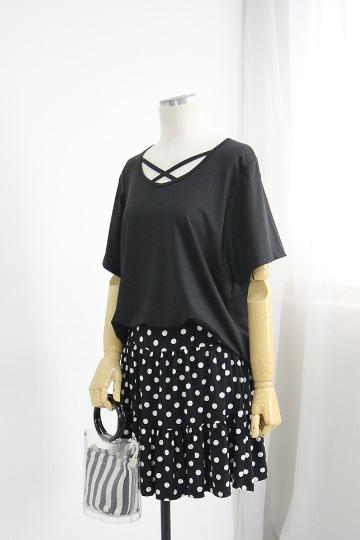 벨딘 X끈 래쉬 반팔 티셔츠 GD1300