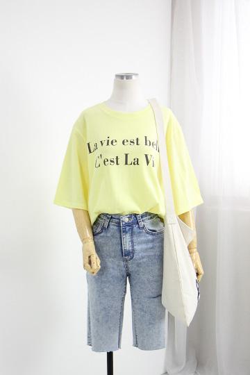 [교환반품불가] 벨레 반팔 티셔츠 GD1302