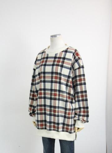 플리스 기모 맨투맨 티셔츠 GD1356