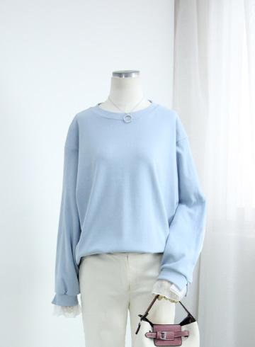 베스트 소매쉬폰 맨투맨 티셔츠 GOA1158