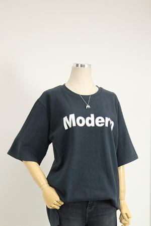 겉기모 레터링 티셔츠 LV1213