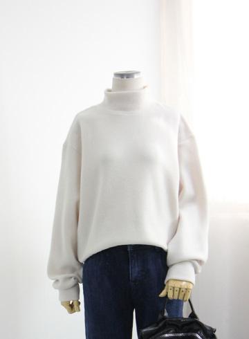 데일리 겉기모 폴라 티셔츠 LV1462