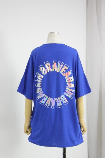 홀로그램 필름 반팔 티셔츠 MN1278