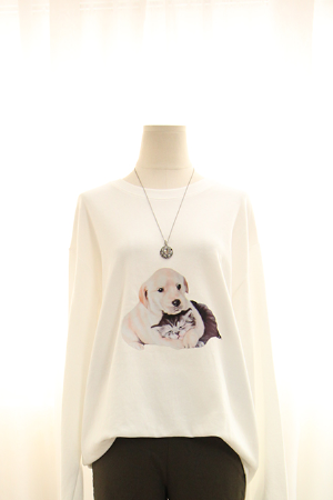 [교환반품불가] 댕댕이 티셔츠  MSM1600
