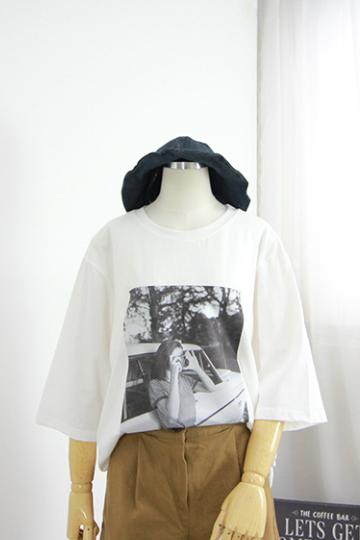 파파라치 티셔츠 MSM1757