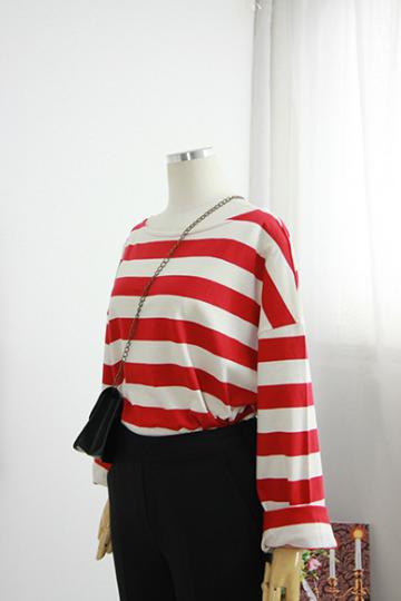베어 단가라 티셔츠 MSM1783