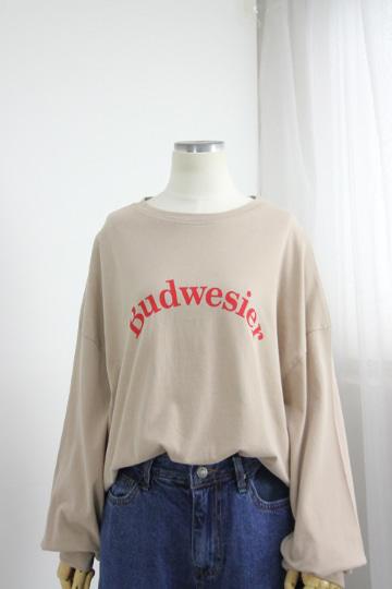 버드 프린팅 티셔츠 MSM1931