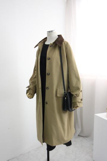 매니아 바바리 코트 MSM1940