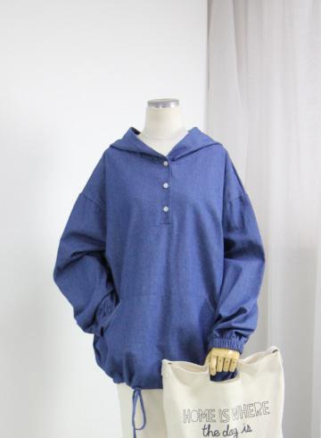 매직 청 아노락 후드 티셔츠 MSM1968
