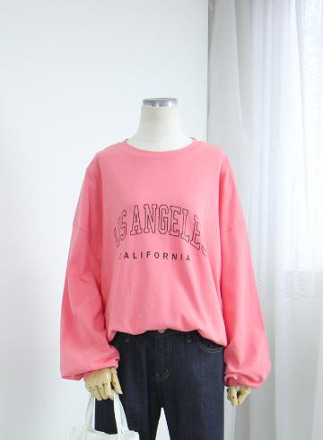 심플레터링 루즈핏 티셔츠 MSM1981