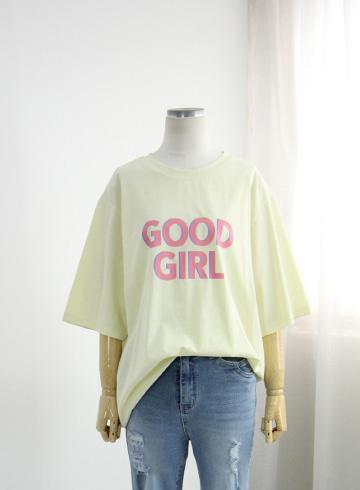굿걸 반팔 티셔츠 MSM1996