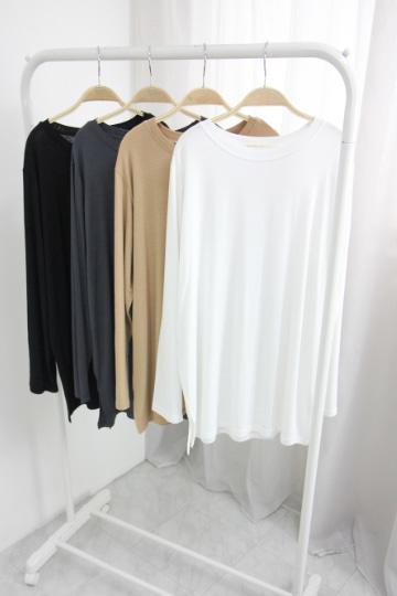 소프트 라운드넥 티셔츠  NBN1582