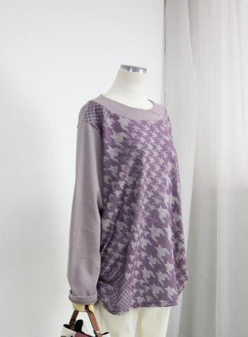 제비 기모 라운드넥 셔링 티셔츠 NR1177