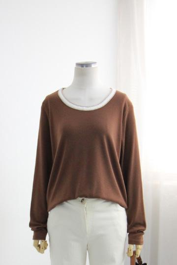 스킨 라운드넥 티셔츠 NTN1163