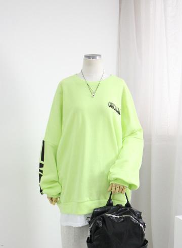 [교환반품불가] 오리지널 맨투맨 기모 티셔츠 OPA03