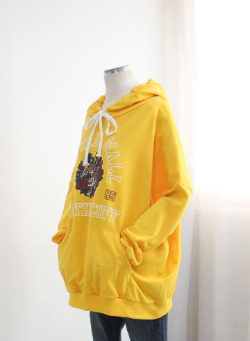 메트릭 후드 티셔츠 PS136