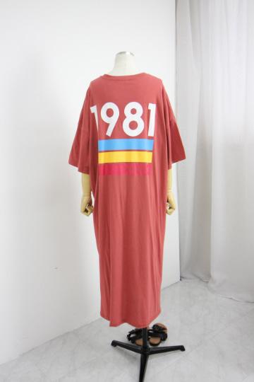 1981 반팔 롱 원피스 PS57