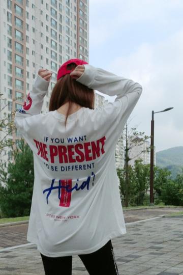 히든 루즈핏 박스티셔츠 PS84