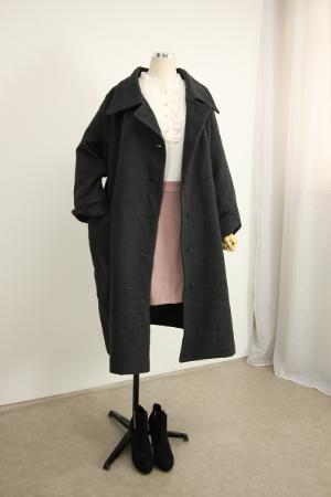 트임소매 누빔 코트 QZ994