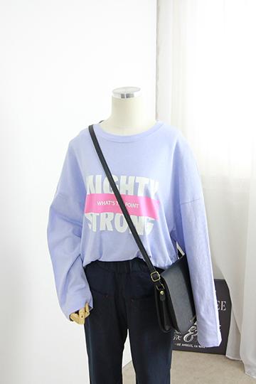 스트롱 프린팅 티셔츠 STM1351