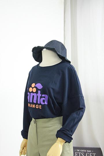 카보닉 프린팅 티셔츠 STM1353