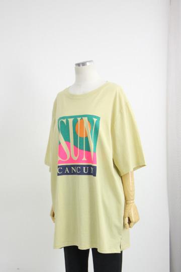 [교환반품불가] 썬스퀘어 마 반팔 티셔츠 STM1503