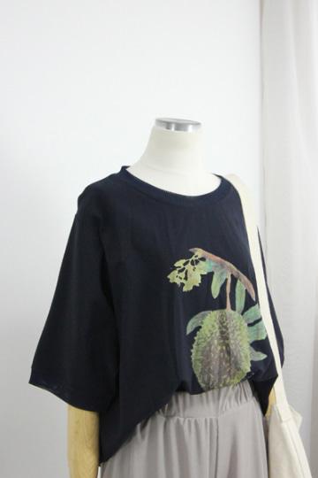 [교환반품불가] 프루츠 라운드넥 반팔 티셔츠 STM1510