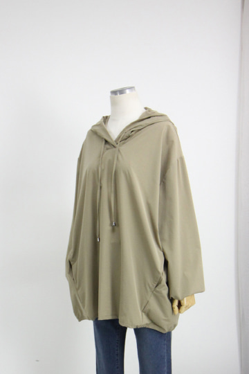 하이 후드 티셔츠 STM1527