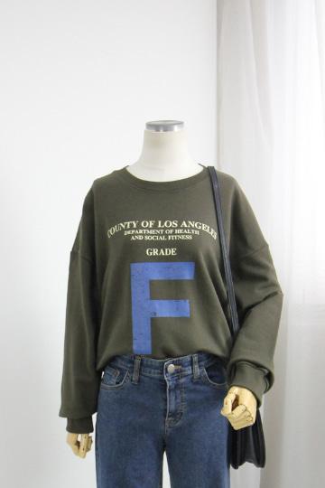 소셜 쭈리 맨투맨 티셔츠 STM1540