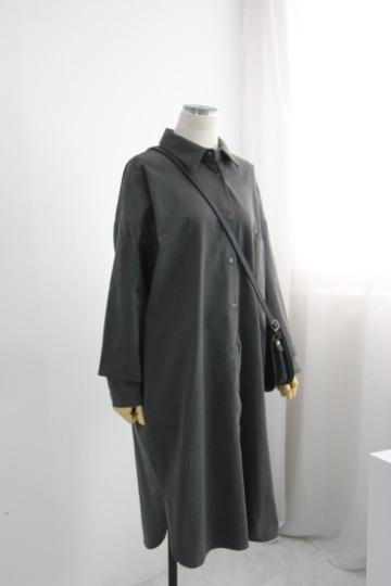 로니 셔츠 원피스 STM1546
