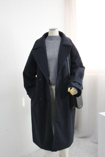 [교환반품불가.수량한정] 투마로우 본딩 울 코트 STM1561