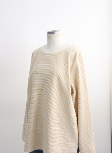 푸딩 단가라 라운드넥 티셔츠 STM1580