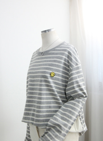 스마일 단가라 티셔츠 STM1593
