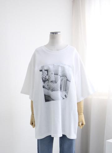 홀리데이 반팔 티셔츠 TTG1195