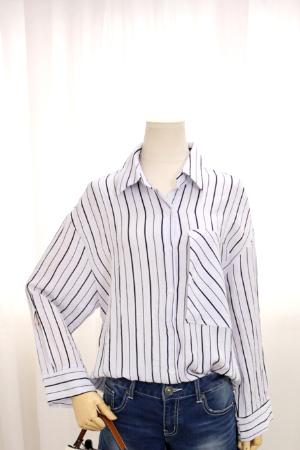 포켓 포인트 셔츠 WHB81