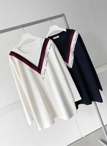러브라인 티셔츠 BSI652