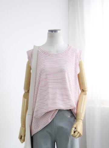 콜링 단가라 민소매 티셔츠 GOA1164