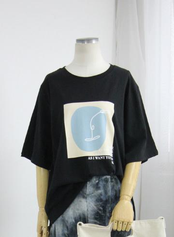 리프 반팔 티셔츠 LV1523
