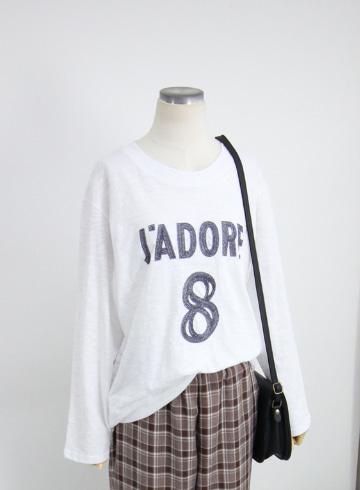 자도르 라운드넥 티셔츠 LV1550