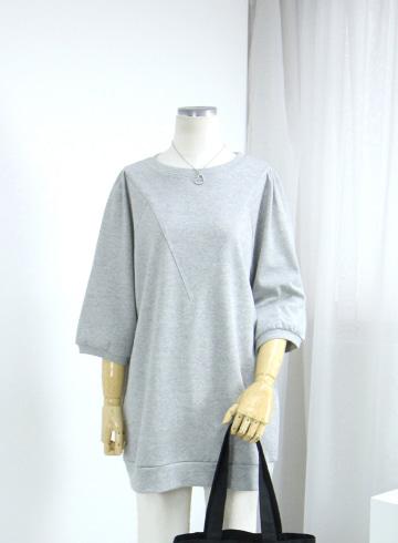 포인트 절개라인 티셔츠 MN1328