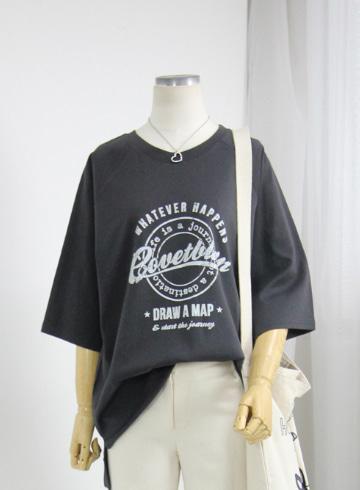 버터 반팔 라운드넥 티셔츠 NBN1709