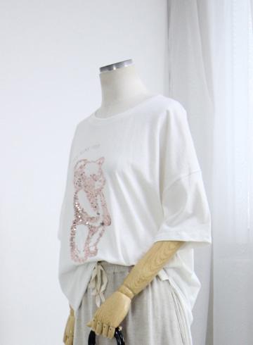 곰돌이스펭글 반팔 티셔츠 NTN1188